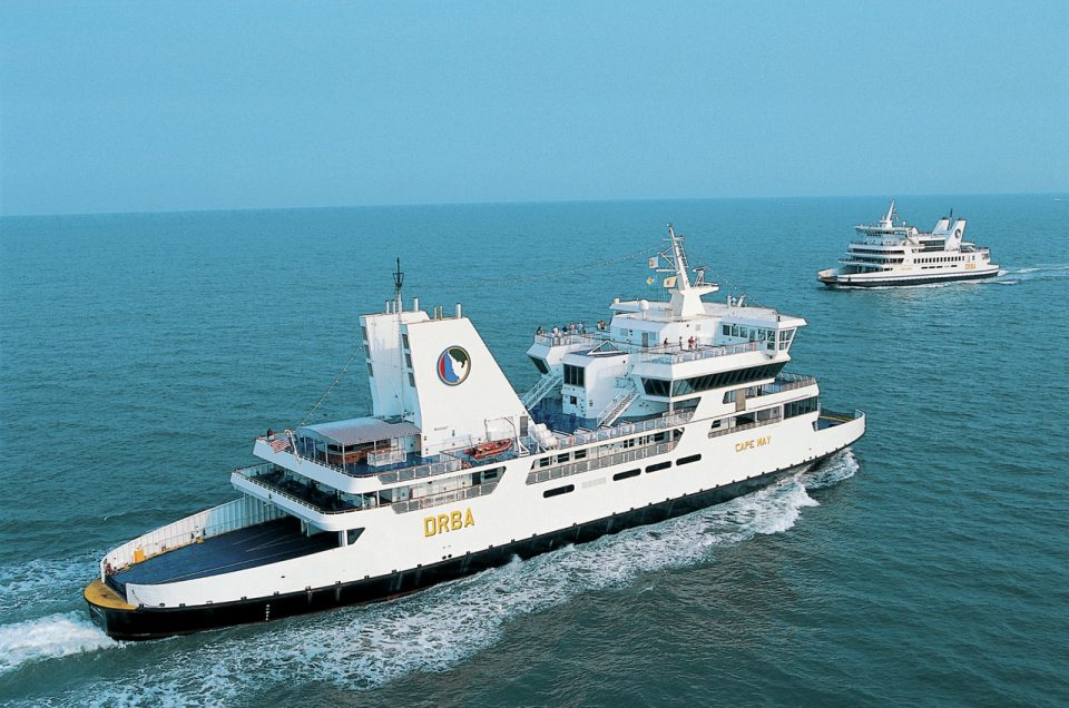 New Jersey-Delaware: Cape May-Lewes Ferry