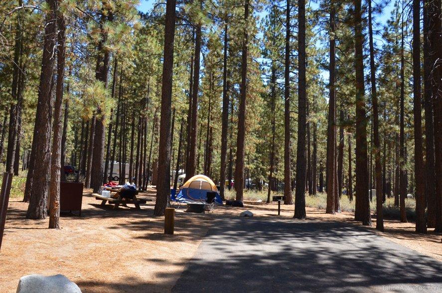 Lake Tahoe Nevada Beach Campground Pet Friendly Travel